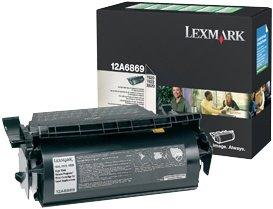 Lexmark Return Etiketten Toner 12A6869 schwarz hohe Kapazität