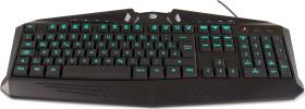 Hyrican Striker Gaming Keyboard G8003 with RGB Illumination, USB, DE (TAS00316)