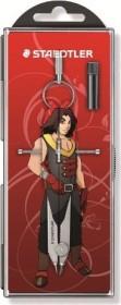 "Staedtler Mars comfort 556 Präzisions-Geometriezirkel, Manga Edition ""Crimson"" (556 00-ML2)"