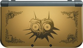 Nintendo New 3DS XL The Legend of Zelda: Majora's Mask - Limited Edition gold