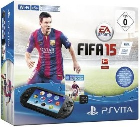 Sony PlayStation Vita Wi-Fi Fifa 15 Bundle schwarz