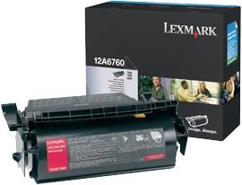 Lexmark Toner 12A6760 black