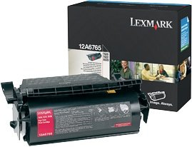 Lexmark Return Toner 12A6765 schwarz