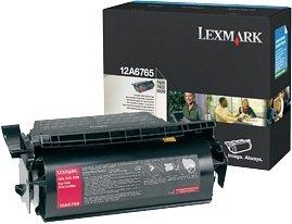 Lexmark 12A6765 toner zwrotny czarny