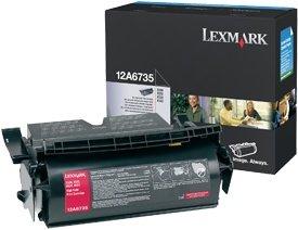 Lexmark Toner 12A6735 black high capacity