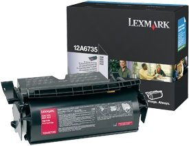 Lexmark Toner 12A6735 black high capacity