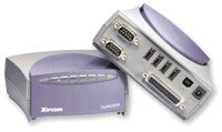 Xircom PortGear 7-port Multifunction USB hub (4 x USB, 2 x serial, 1 x parallel)
