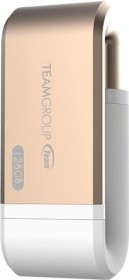 TeamGroup MoStash WG02 gold 64GB, USB-A 3.0/Lightning (TWG02CGD01)
