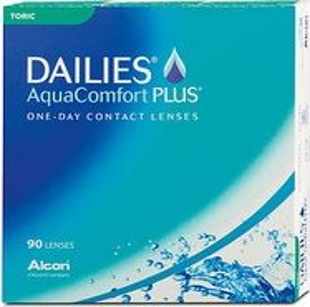 Alcon Dailies AquaComfort Plus Toric, +4.00 Dioptrien, 90er-Pack