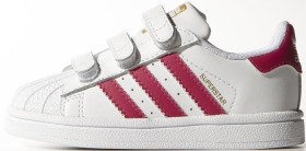 adidas Superstar ftwr white/bold pink (Junior) (B23639)