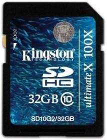 Kingston Ultimate X SDHC 32GB, Class 10 (SD10G2/32GB)