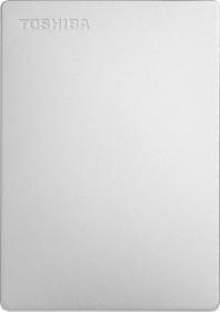 Toshiba Canvio Slim Silber 1TB, USB 3.0 Micro-B (HDTD310XS3DA)