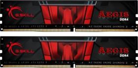 G.Skill Aegis DIMM Kit 16GB, DDR4-2666, CL19-19-19-43 (F4-2666C19D-16GIS)