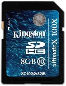 Kingston Ultimate X SDHC 8GB, Class 10 (SD10G2/8GB)