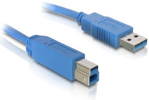 DeLOCK USB 3.0 cable A/B 1.8m (82434)