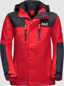 Jack Wolfskin Jasper Jacke peak red (Junior) (1608451-2015)