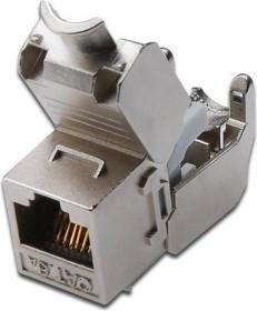 Digitus Keystone Modul RJ-45 Buchse via Verlegekabel Cat6a (DN-93615)