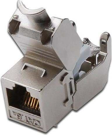 Digitus Keystone module RJ-45 socket via installation cable Cat6a (DN-93615)