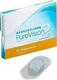 Bausch&Lomb PureVision 2 HD for Astigmatism, -1.25 Dioptrien, 3er-Pack