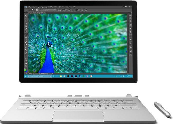 Microsoft Surface Book, Core i5-6300U, 8GB RAM, 128GB SSD, IGP, UK (CR9-00002/SV7-00002)