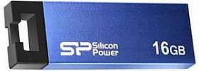 Silicon Power Touch 835 blau 16GB, USB-A 2.0 (SP016GBUF2835V1B)