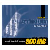 BestMedia Platinum CD-R 90min/800MB,  25er-Pack
