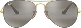 Ray-Ban RB3025 Aviator Mirror 58mm grey-gold/grey gradient mirror (RB3025-9154AH)
