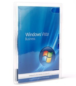 Microsoft: Windows Vista Business 32Bit, DSP/SB, 1er-Pack (deutsch) (PC) (66J-02292) -- © DiTech