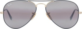Ray-Ban RB3025 Aviator Mirror 55mm grey-gold/grey gradient mirror (RB3025-9154AH)