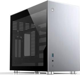 Jonsbo V10 silber, Glasfenster, Mini-ITX (V10-G Silver)