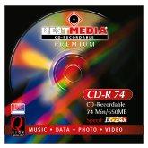 BestMedia Premium CD-R 74min/650MB, 25-pack