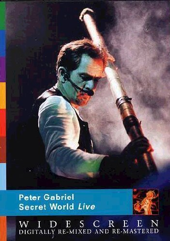 Peter Gabriel - Secret World Live -- via Amazon Partnerprogramm