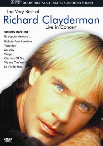 Richard Clayderman - The Very Best Of: Live in Concert -- via Amazon Partnerprogramm