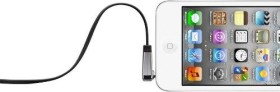 Belkin 3.5mm Stereoklinkenkabel für iPod und iPhone 0.9m schwarz (AV10128CW03-BLK)