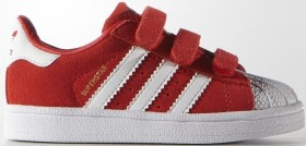 adidas Superstar red/ftwr white (Junior) (S74910)