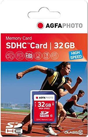 Lupus Imaging AgfaPhoto High Speed R45/W15 SDHC 32GB, UHS-I, Class 10 (10427) -- via Amazon Partnerprogramm