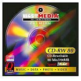 BestMedia Premium CD-RW 74min/650MB, 25-pack