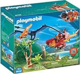 playmobil The Explorers - Helikopter mit Flugsaurier (9430)