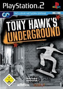 Tony Hawk's Underground (niemiecki) (PS2)