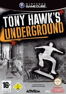 Tony Hawk's Underground (German) (GC)
