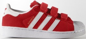 adidas Superstar red/ftwr white (Junior) (S74907)