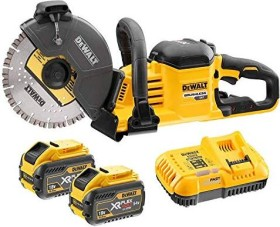 DeWalt DCS690X2 rechargeable battery-cut-off saw incl. 2 Batteries 9.0Ah