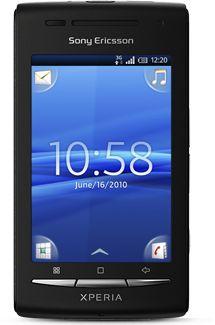 Sony Ericsson Xperia X8 schwarz