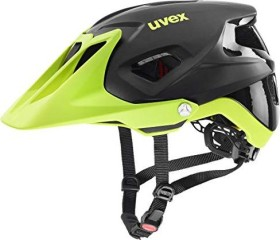 UVEX Quatro Integrale Helm black lime mat