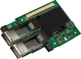 Intel XL710-QDA2 I/O Module, 2x QSFP+, Mezzanine-Modul, retail (XL710QDA2OCP)