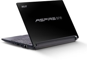 Acer Aspire One D255E, Atom N550, 250GB, Bluetooth, Windows 7 Starter, black, UK (LU.SEV0D.677)