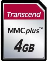 Transcend MultiMedia Card [MMCplus] Plus 4GB (TS4GMMC4)