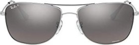 Ray-Ban RB3543 Chromance 59mm silver/silver mirror (RB3543-003/5J)