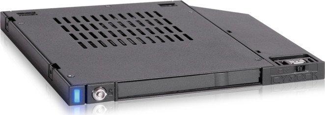 """Icy Dock flexiDOCK 2.5"""" SATA SSD/HDD Dock für Ultra Slim ODD Slot, SATA (MB511SPO-1B)"""