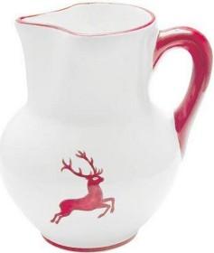 Gmundner Keramik Rubinroter Hirsch Krug Wiener Form 1.5l (0318KRWF10)